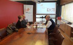 La AVI y la Asociación Valenciana del Calzado exploran vías de colaboración para reforzar la I+D+i entre las empresas del secto