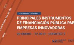 29 DE GENER | Principals instruments de finançament públic per a empreses innovadores