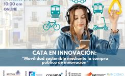 31 DE MARÇ | Cata d'innovació: Mobilitat sostenible mitjançant la Compra Pública d'Innovació